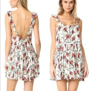 Free People Dear You Mini Dress - Floral